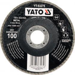 Šlifavimo diskas lapelinis plokščias, P36-P120