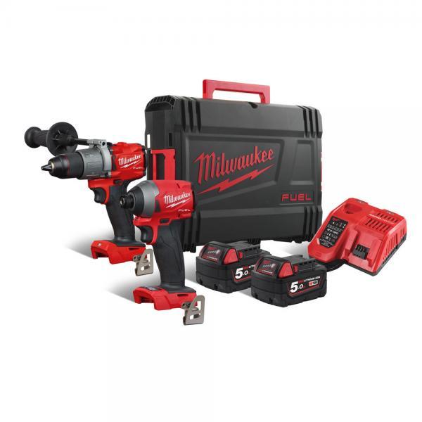 Akumuliatorinių įrankių komplektas Milwaukee M18 FPP2A2-502X