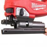 Akumuliatorinis siaurapjūklis Milwaukee M18 FJS-0X