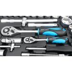 Įrankių komplektas 94vnt. su metaliniais užraktais, ESSEN TOOLS