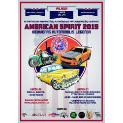 Amerikietiškų automobilių paroda American Spirit 2019