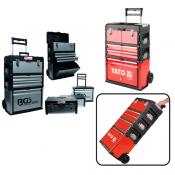 Įrankių dėžės su ratukais